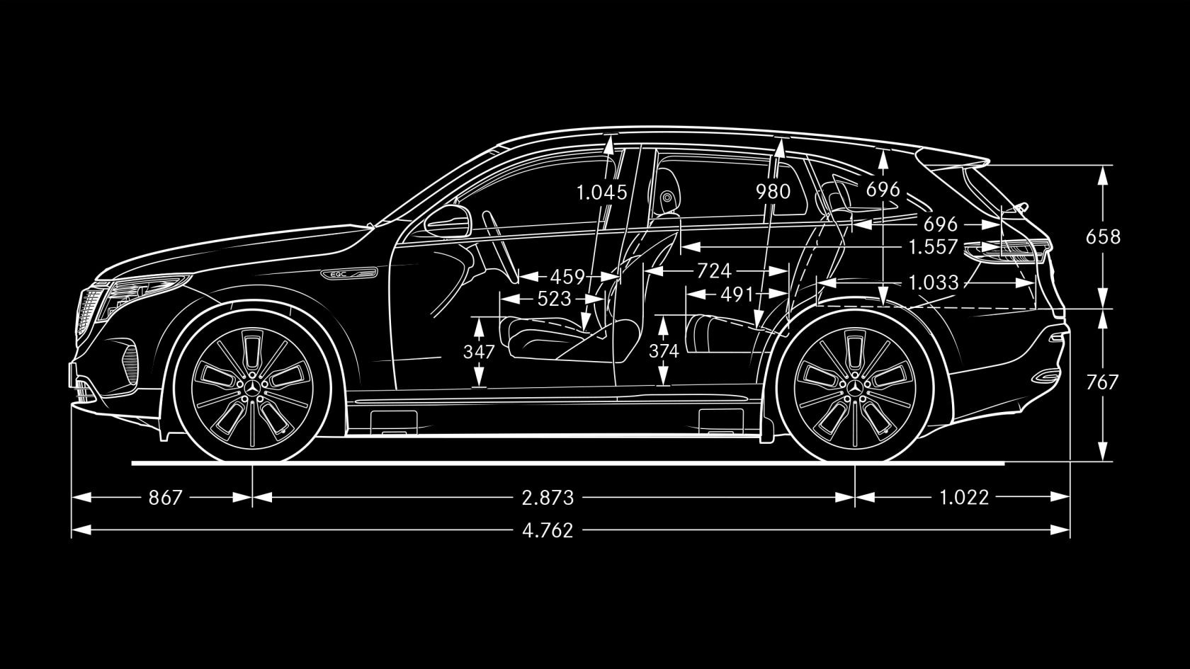 Specifications of THE LATEST MERCEDES BENZ EQC AVAILABLE AT 1 CR